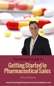 getting started in pharmaceutical sales